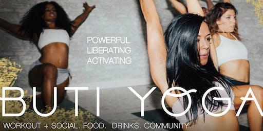 Buti Yoga Workshop and Social