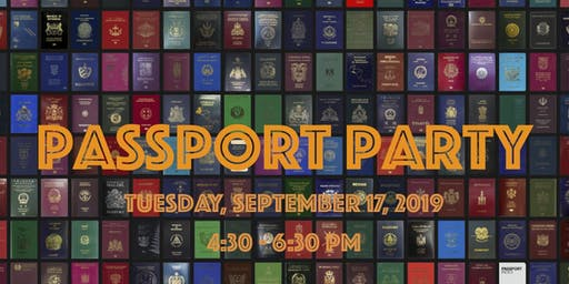 Welcoming Week Passport party SOLD OUT