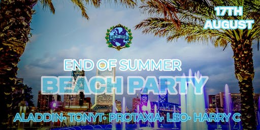 LITUPWORLDWIDE: END OF SUMMER BEACH THEME PARTY