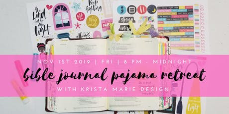 Bible Journal Pajama Retreat tickets