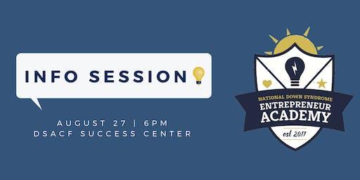 Entrepreneur Academy INFO Session