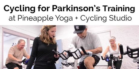 Cycling for Parkinson's Training with Sally Harris, Director of YMCA Prog tickets