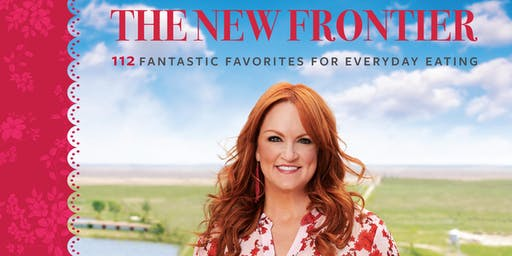 Ree Drummond signs THE PIONEER WOMAN COOKS: THE NEW FRONTIER at B&N-Paramus