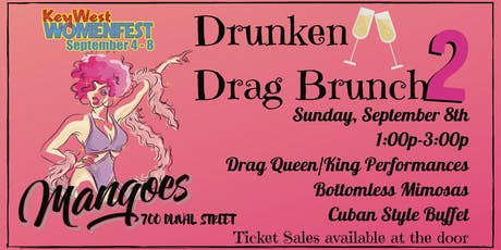 Drunken Drag Brunch 2 tickets