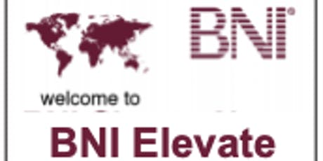 BNI Elevate - Lunch Referral Networking tickets