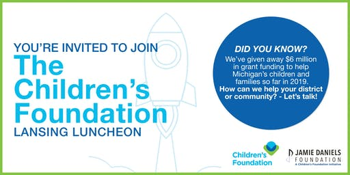 The Children's Foundation Lansing Luncheon