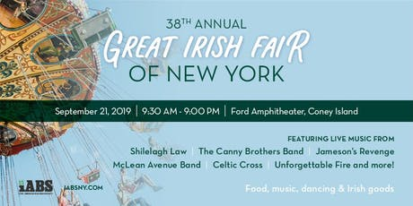 38th Annual Great Irish Fair  tickets