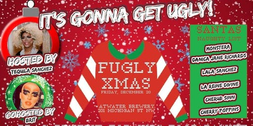 FUGLY XMAS: Drag Benefit for Kids' Food Basket