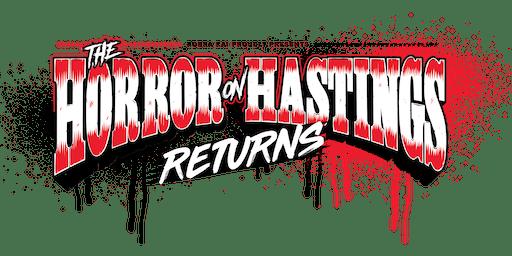 The Horror on Hastings II - A Rickshaw Wrestling Presentation
