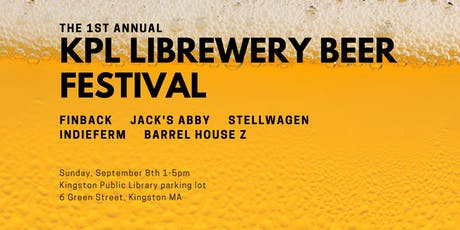 1st Annual KPL Librewery Beer Festival tickets