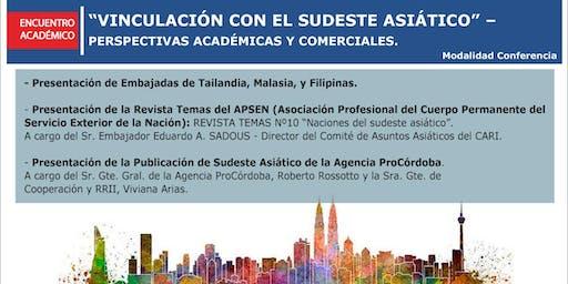 Encuentro Académico con Embajadas del Sudeste Asiático