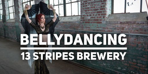 Bellydancing Class at 13 Stripes Brewery