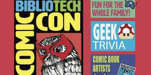 BiblioTech Comic Con