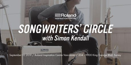 Songwriters' Circle - Roland Vancouver tickets