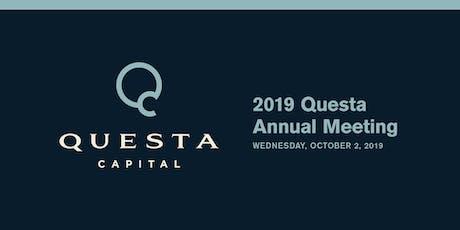 2019 Questa Annual Meeting tickets