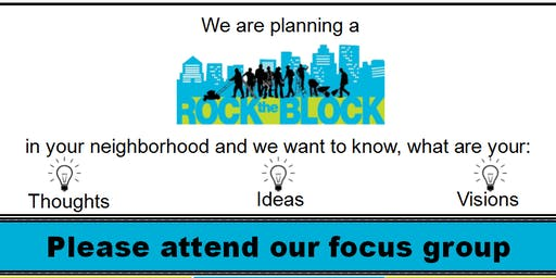HFHNCC Rock the Block Focus Group