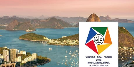 VI BRICS Legal Forum 2019 ingressos