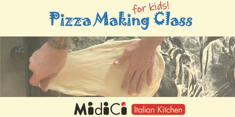 Neapolitan Pizza Making Class for Kids tickets