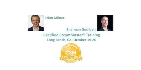Certified ScrumMaster® Training   Long Beach   October 2019 (Weekend) tickets