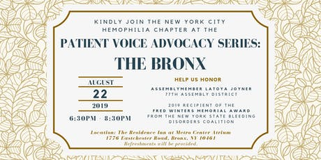 Patient Voice Advocacy Series: The Bronx tickets