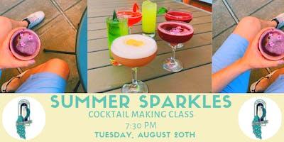 Summer Sparkles Coacktail Class