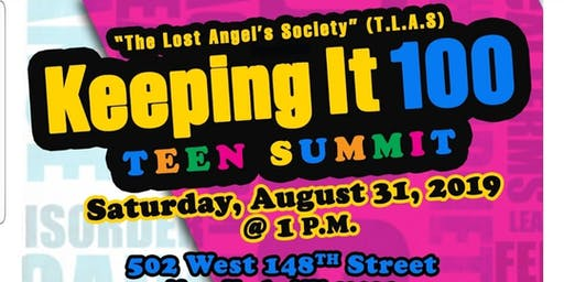 Keeping It 100 Youth Summit.