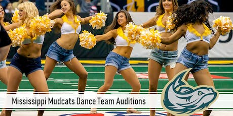 Mississippi Mudcats Dance Team Auditions tickets