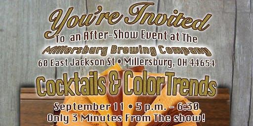 Cocktails & Color Trends - Ohio Hardwood Furniture Market After-Show Event