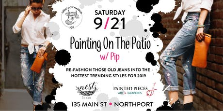 Painting On The Patio w/ Pip @ Nest on Main tickets