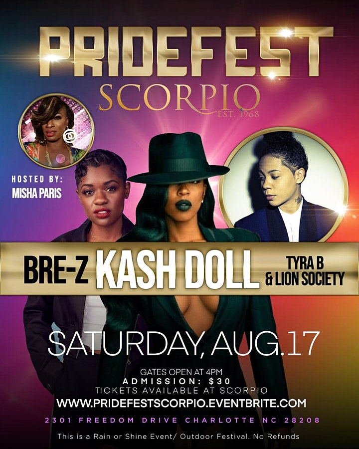 Pride Festival @ Scorpio (Outdoor Concert) Rain or Shine Event No Refunds image