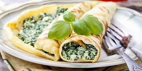 Lunch 'n' Learn: Crêpes à la Florentine tickets