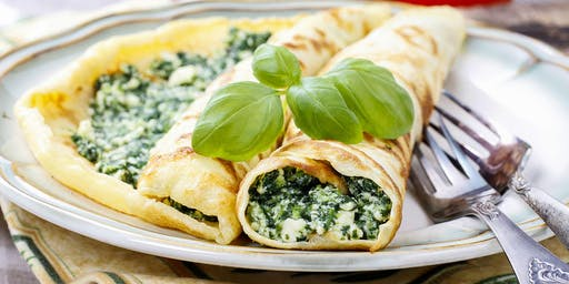 Lunch 'n' Learn: Crêpes à la Florentine