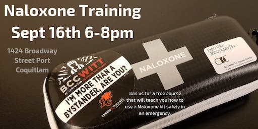 Naloxone Training for Women in Trades and Related Sectors