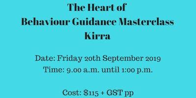 The Heart of Behaviour Guidance Masterclass Gold Coast