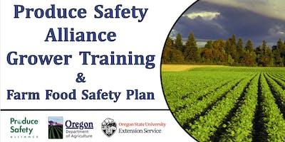 Produce Safety Alliance (PSA) Grower Training