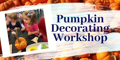 Pumpkin Decorating Workshop