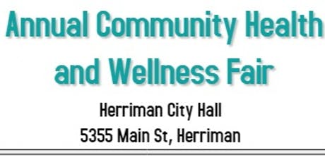 Herriman Annual Community Health and Wellness Fair (Free to the Public) tickets