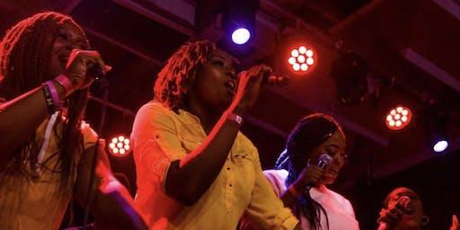 Afro Karaoke at Bourbon on Division