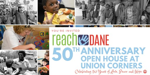 Reach Dane's 50th Anniversary/Open House at Union Corners
