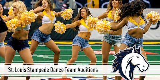 Saint Louis Stampede Dance Team Auditions
