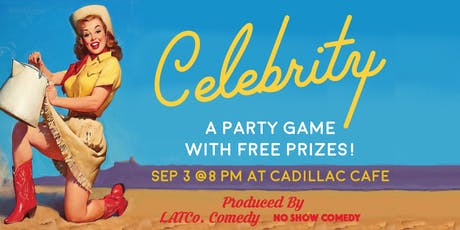 Celebrity Game Night! tickets