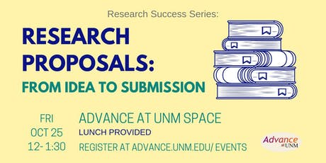 Research Proposals: From Idea to Submission tickets