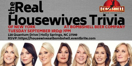 Real Housewives of New York Trivia at Bombshell Beer Company tickets