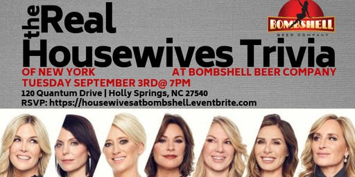 Real Housewives of New York Trivia at Bombshell Beer Company