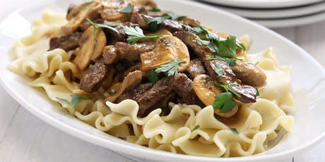 Lunch 'n' Learn: Classic Beef Stroganoff tickets