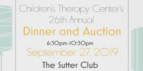 Children's Therapy Center 26th Annual Dinner & Auction tickets