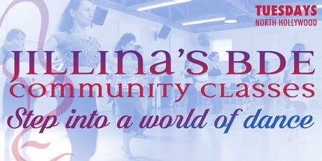 Jillina's BDE Community Classes - September! tickets