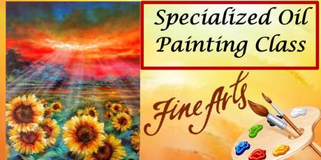 A Special Paint Night, Oil Painting Class  tickets