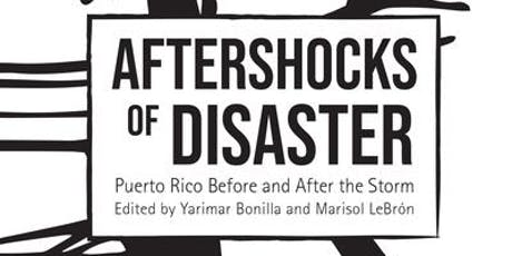 Book Launch: Aftershocks of Disaster tickets