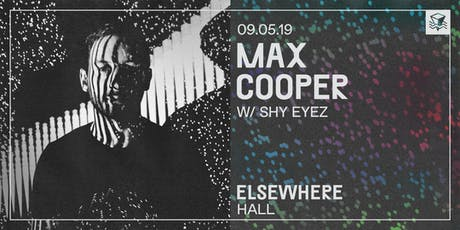 Max Cooper (Live A/V) @ Elsewhere (Hall) tickets